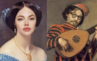 Современные звезды в эпоху Возрождения