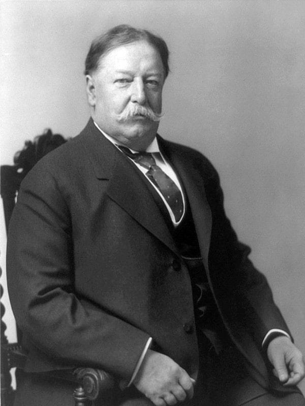 Spisok-prezidentov-SSHA-Uilyam-Taft
