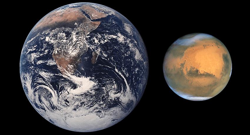 Sravnenie-razmerov-Zemli-i-Marsa
