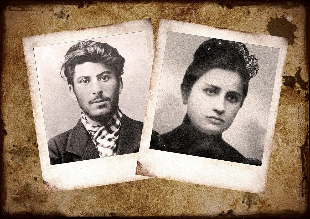 Stalin-i-Ekaterina-Svanidze