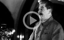 Сталин о русских и немцах