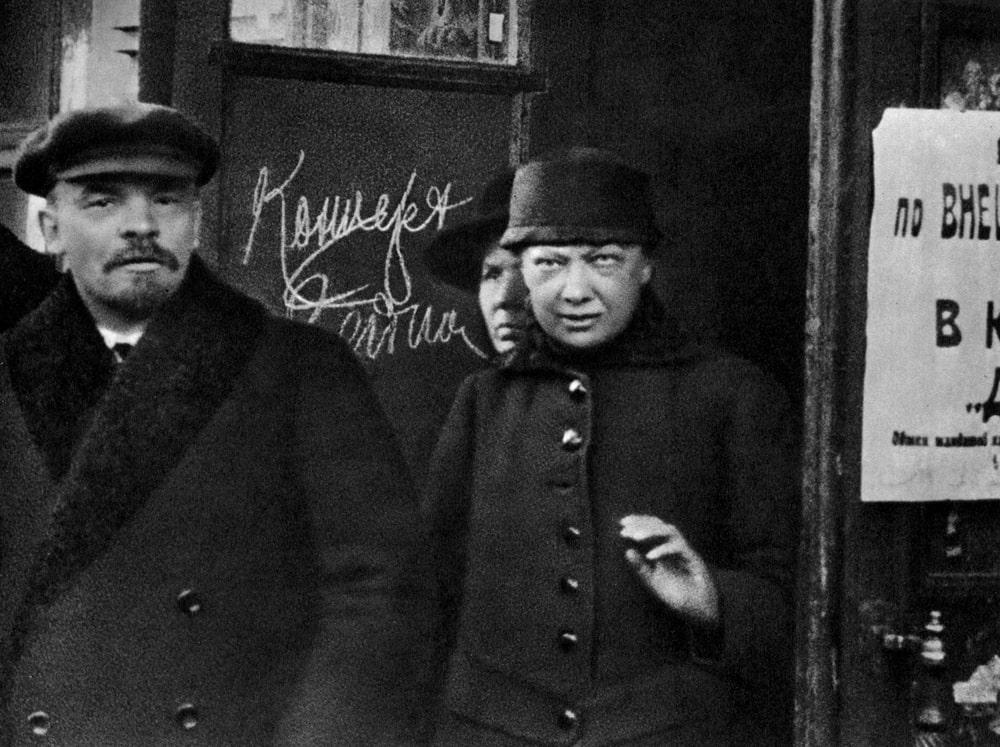 Vladimir-Lenin-i-Nadezhda-Krupskaya