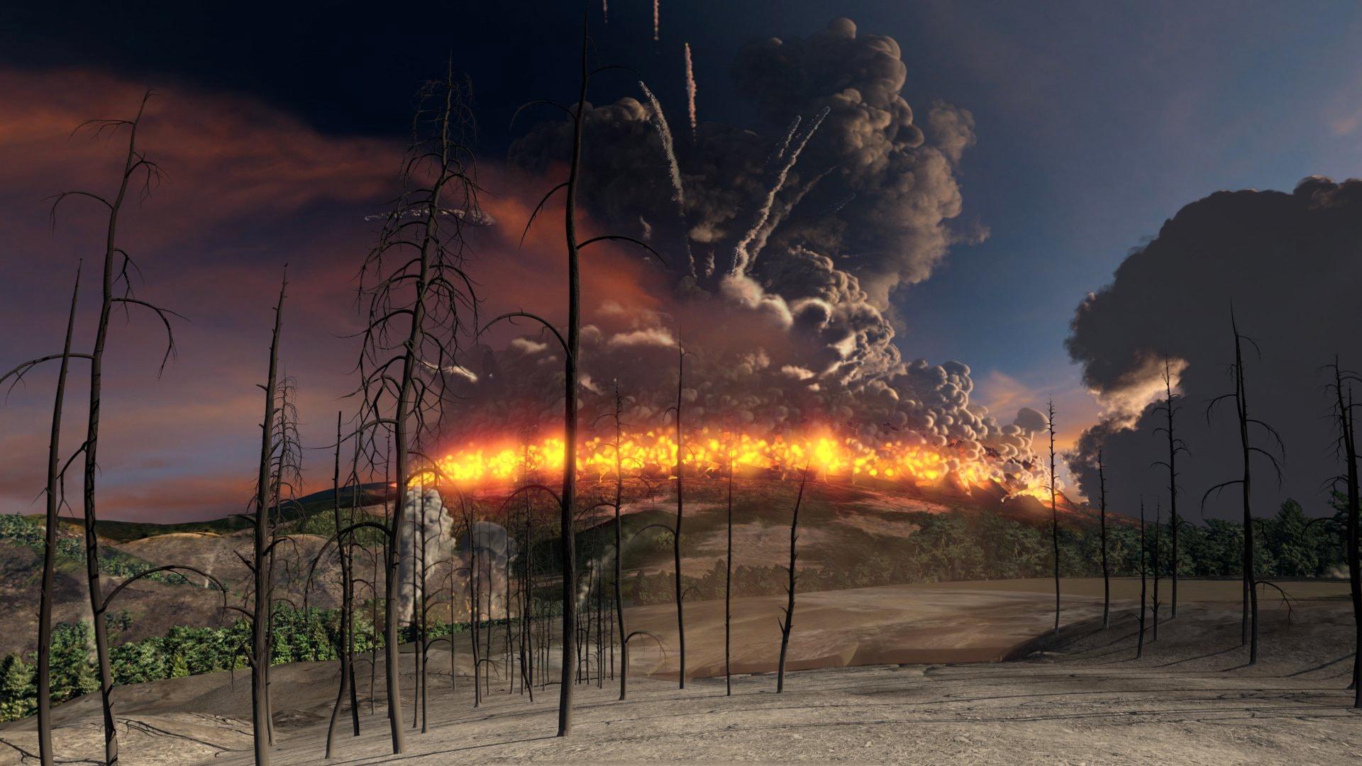 Vulkan Yelloustoun