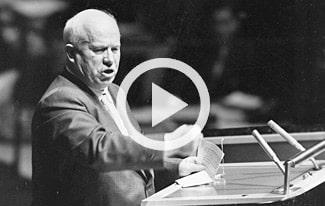 Хрущев взорвался в ООН — это стоит увидеть