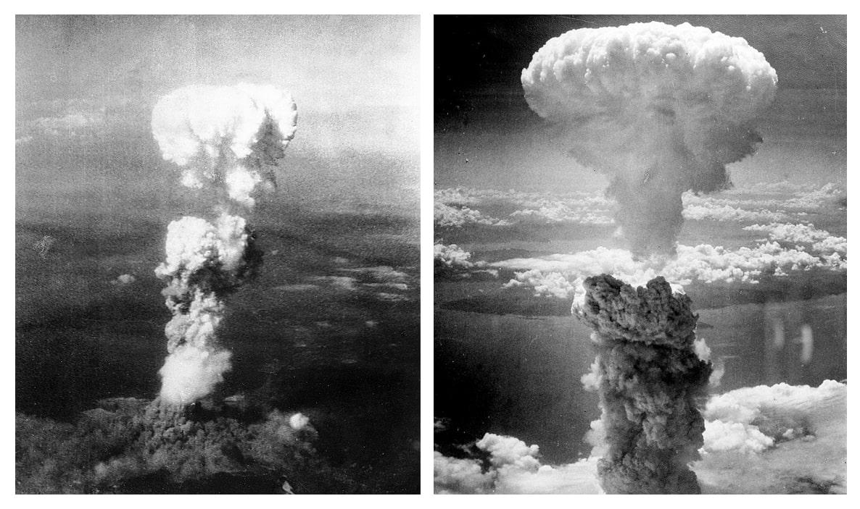 YAdernyiy-grib-nad-Hirosimoy-sleva-i-Nagasaki-sprava