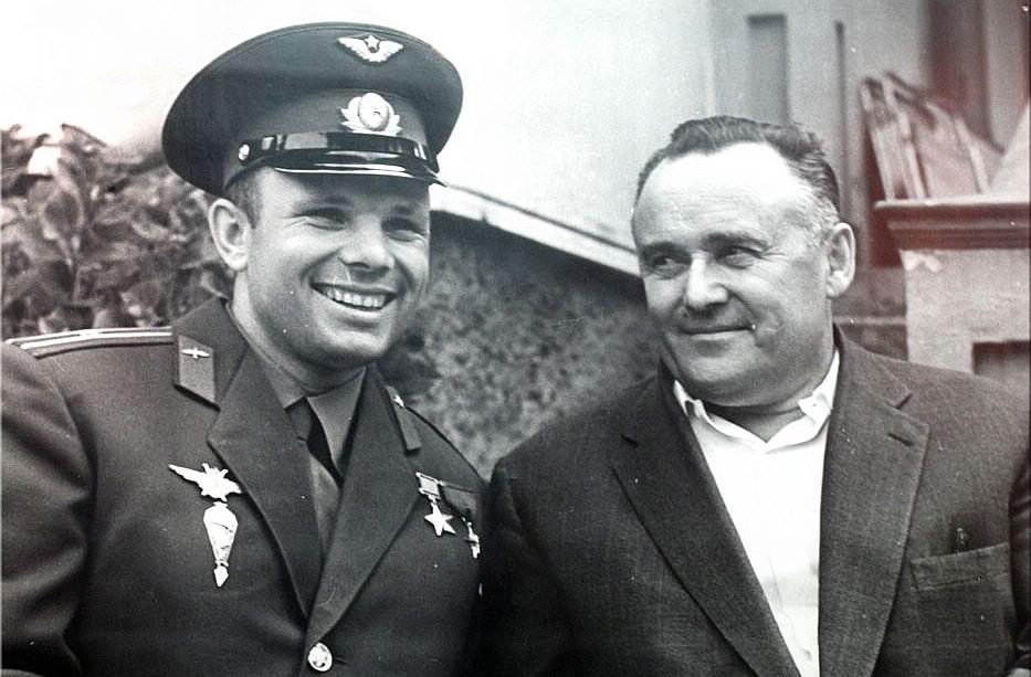 YUriy-Gagarin-i-Sergey-Korolev