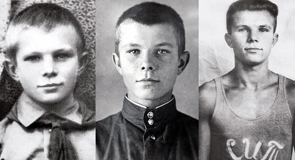 YUriy-Gagarin-v-detstve