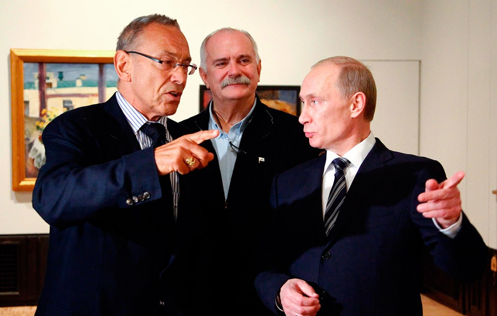 andrej-konchalovskij-nikita-mihalkov-i-vladimir-putin