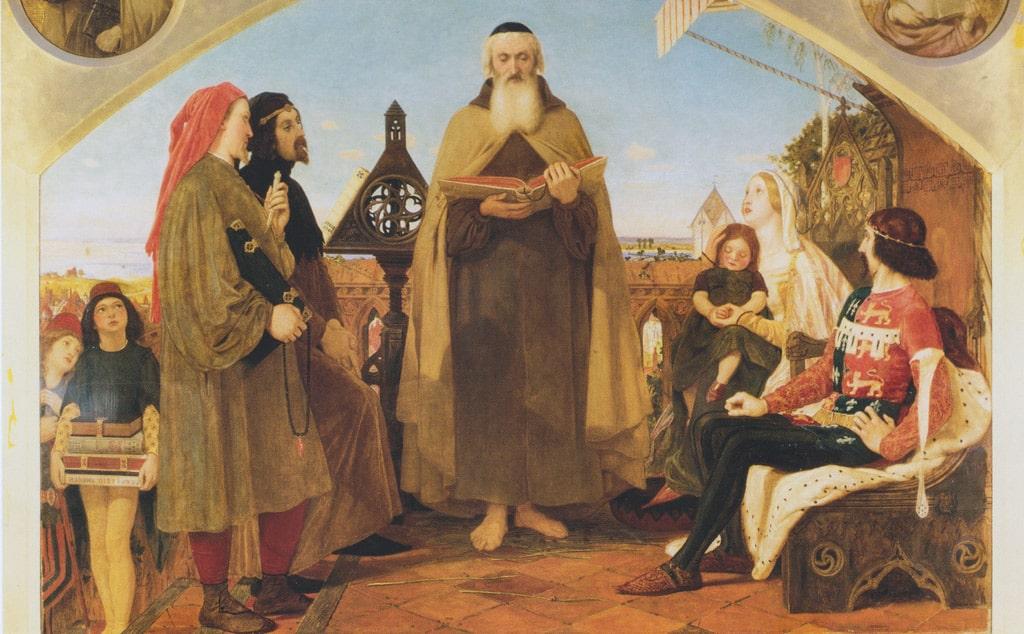 dzhon-uikliff-chitaet-svoj-perevod-biblii