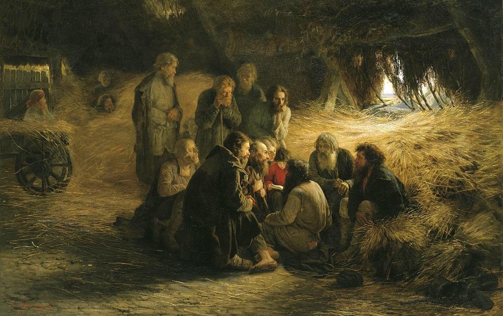 grigorij-myasoedov-chtenie-polozheniya-19-fevralya-1861-goda