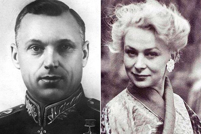 konstantin-rokossovskij-i-valentina-serova