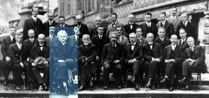 mariya-kyuri-sredi-uchastnikov-konferenczii-o-kvantovoj-mehanike