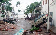 Самые сильные ураганы