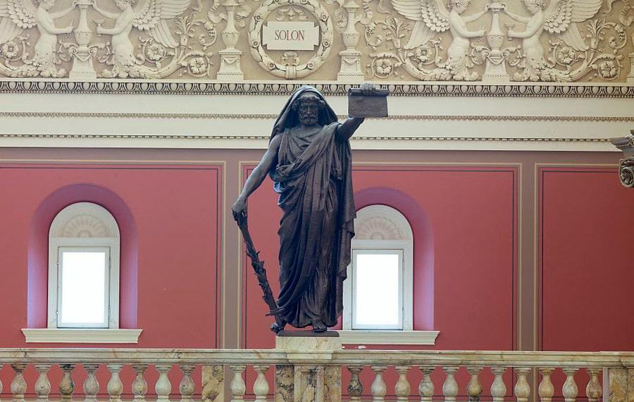 statuya-solona-v-biblioteke-kongressa-ssha