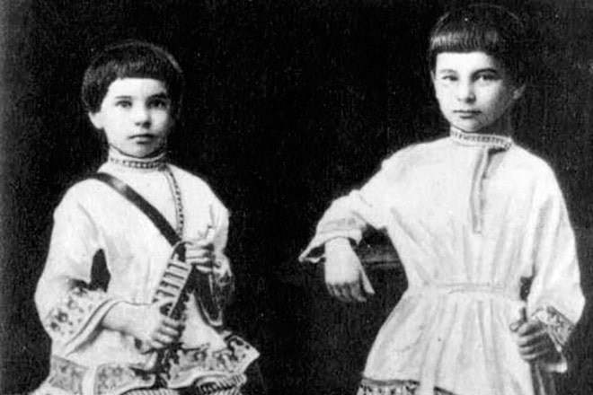 stolypin-s-bratom-aleksandrom-v-detstve
