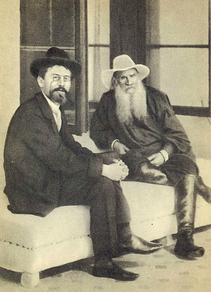 1901-Kryim.-L.-N.-Tolstoy-i-A.-P.-CHehov