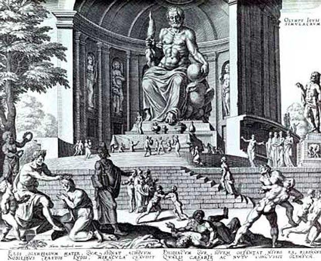 Семь чудес света Статуя Зевса в Олимпии (3)