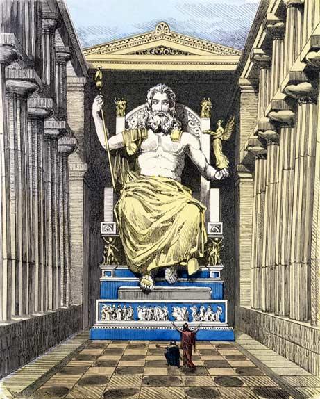 Семь чудес света Статуя Зевса в Олимпии (4)