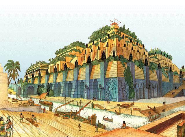 Семь чудес света Висячие сады Семирамиды (2)