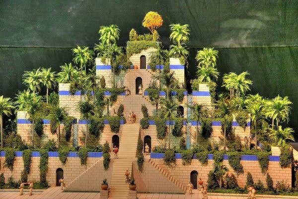 Семь чудес света Висячие сады Семирамиды (6)