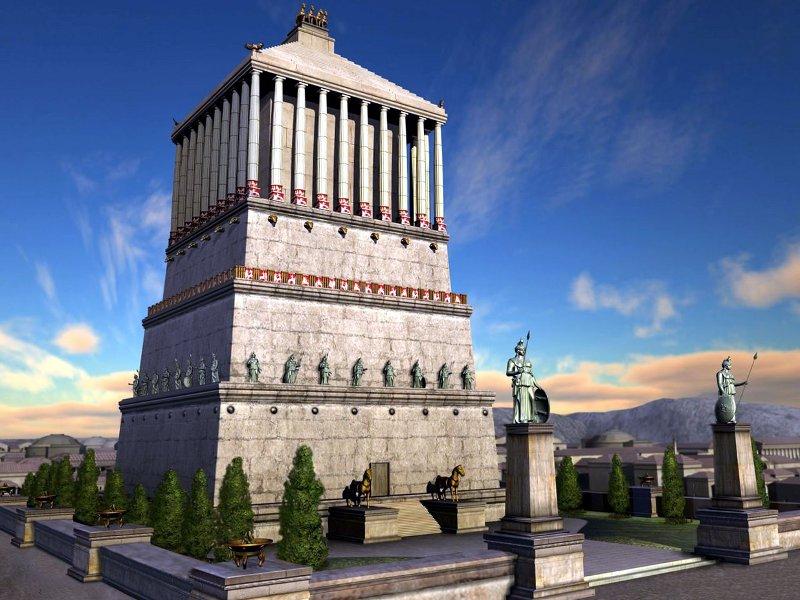 Чудо света Мавзолей в Галикарнасе (1)