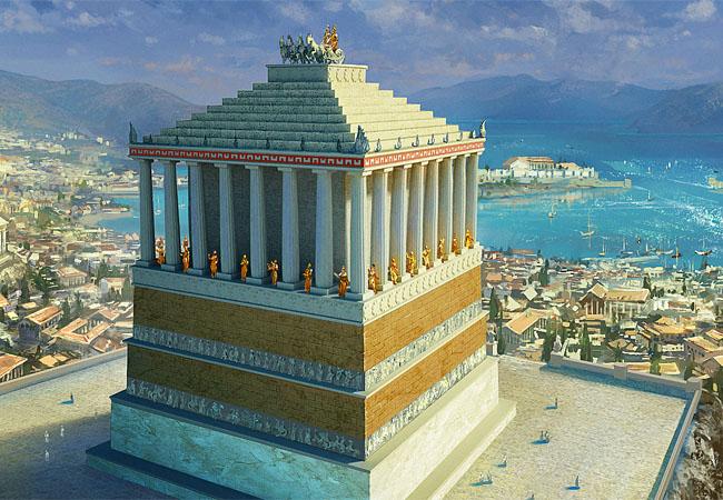 Чудо света Мавзолей в Галикарнасе (2)
