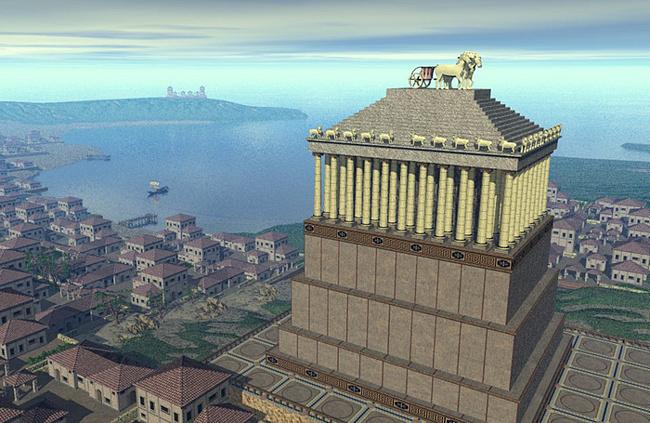 Чудо света Мавзолей в Галикарнасе (3)