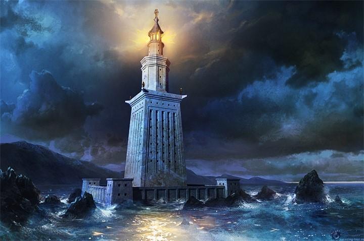 Семь чудес света Александрийский маяк (5)