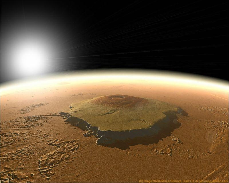 Интересные факты о Марсе (2)