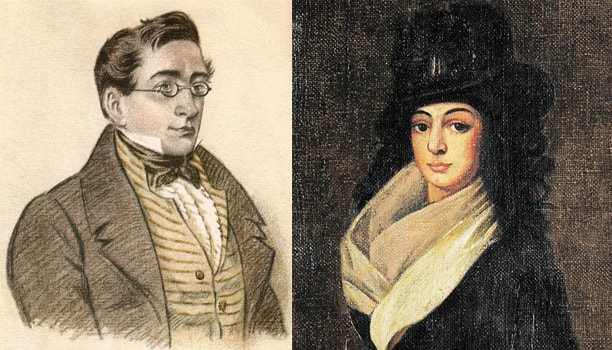 Aleksandr-Griboedov-i-Nina-CHavchavadze
