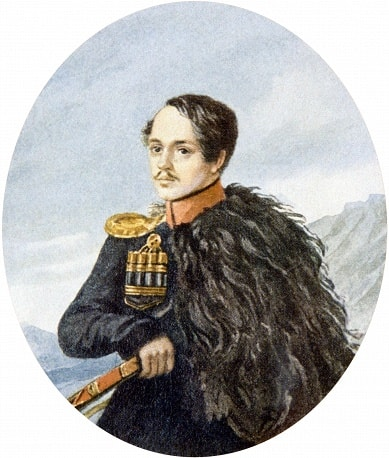 Avtoportret-M.-YU.-Lermontova-1837-38-bumaga-akvarel-Risunki-Lermontova