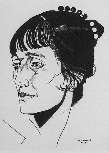 Biografiya-Ahmatovoy.-Portret