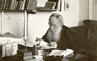 Две цитаты о религии из дневников Толстого