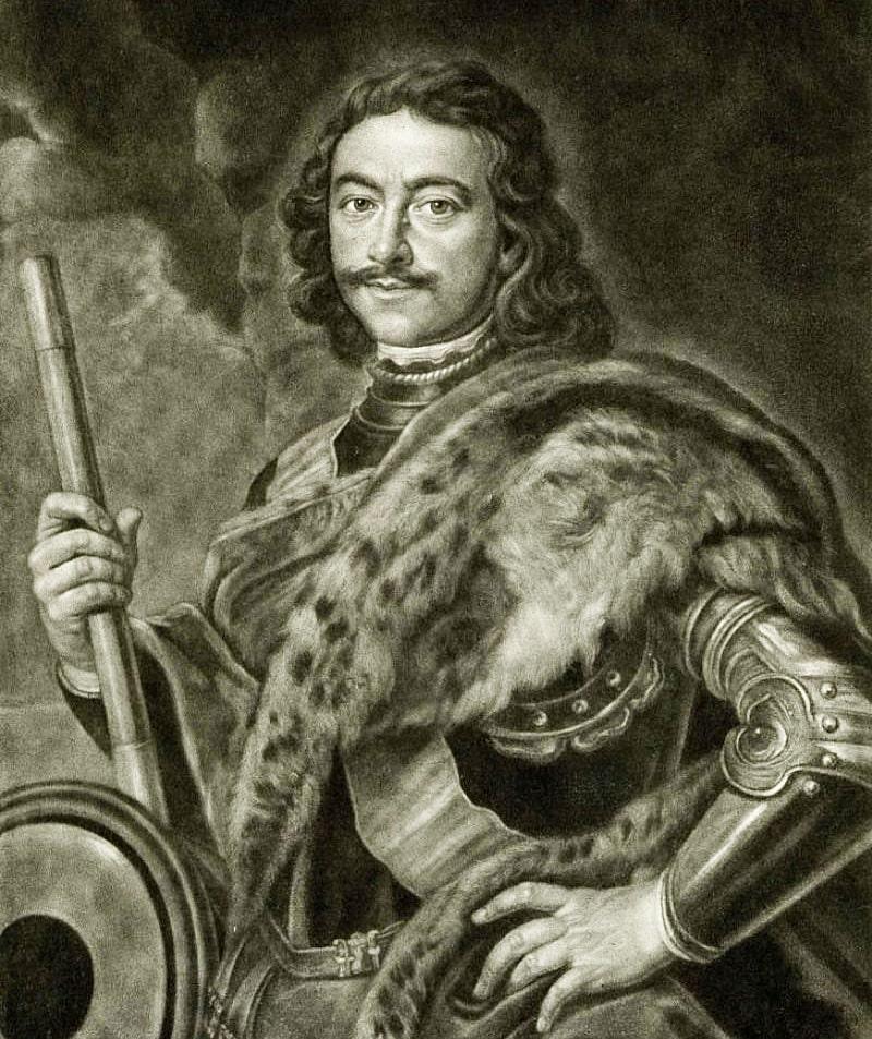 Foto-Petra-1-1711g.-Portret-rabotyi-Ioganna-Kupetskogo-pisan-s-naturyi-v-Karlsbade