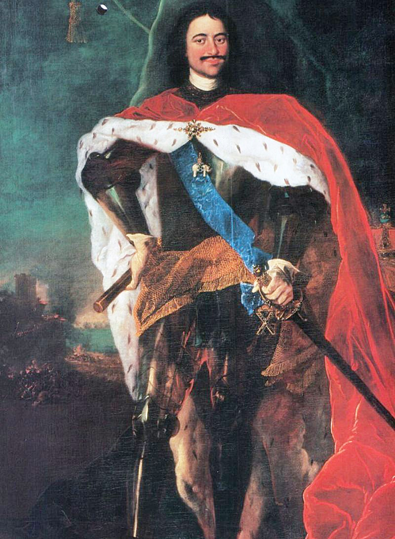 Foto-Petra-1-1716-g.-portret-rabotyi-Benedikta-Kofra-pridvornogo-zhivopistsa-datskogo-korolya