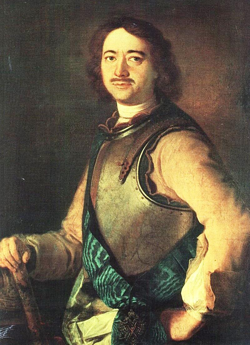 Foto-Petra-1-1717-g.-portret-rabotyi-Arnolda-de-Geldera-1685-1727-gollandskogo-hudozhnika-uchenika-Rembranta