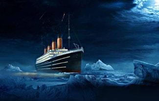 Редкие фото Титаника