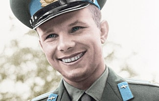 Уникальные фото Юрия Гагарина в хорошем качестве