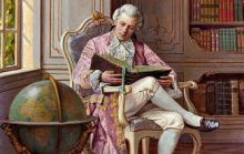 Французский документ 17 века