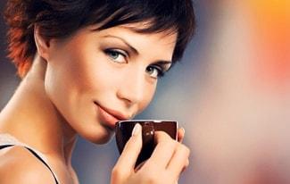 Кофе влияет на размер женской груди