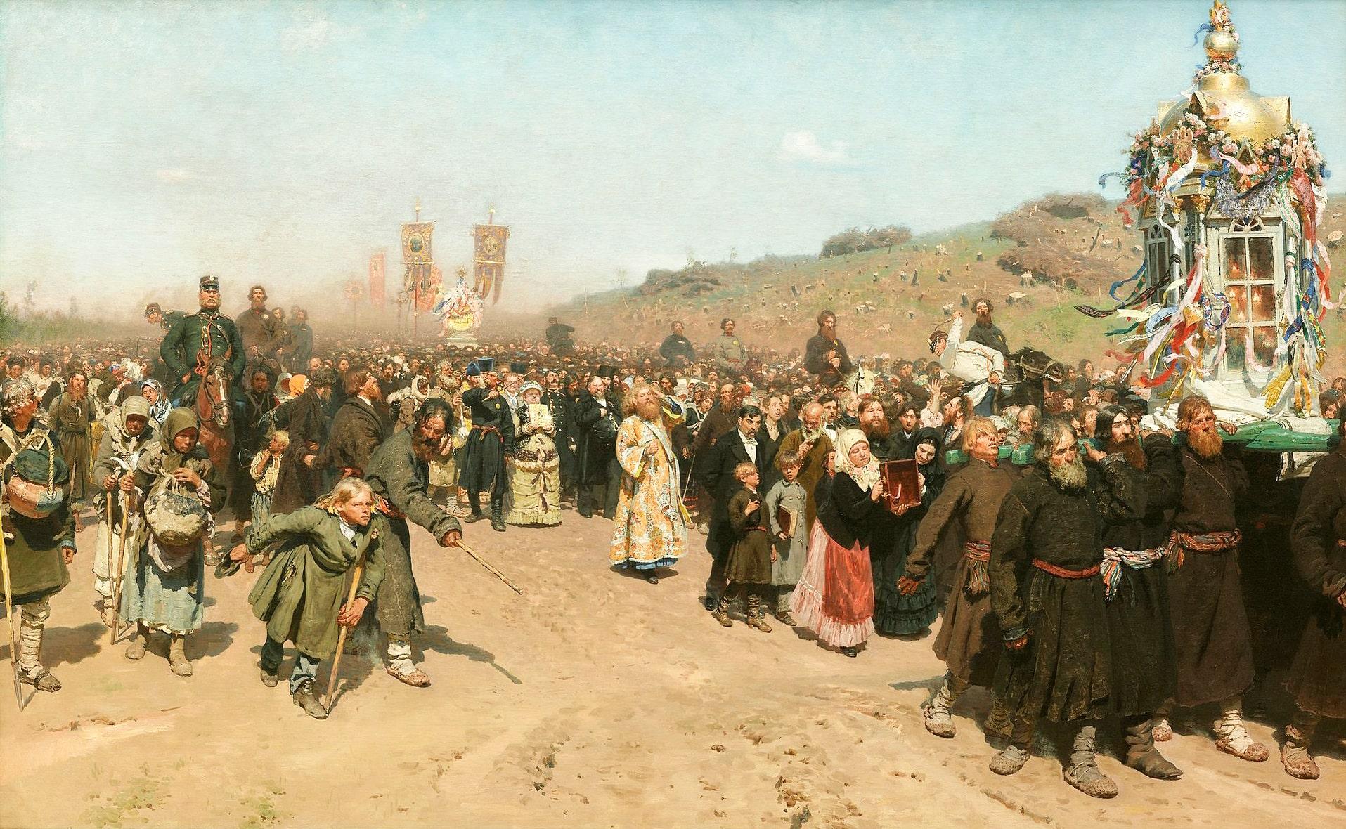 Krestnyiy-hod-v-Kurskoy-gubernii.-1883