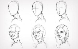 Легкие рисунки для срисовки