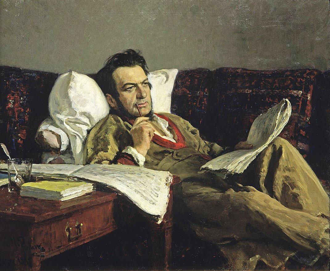 M.-I.-Glinka-v-period-sochineniya-operyi-Ruslan-i-Lyudmila.-1887