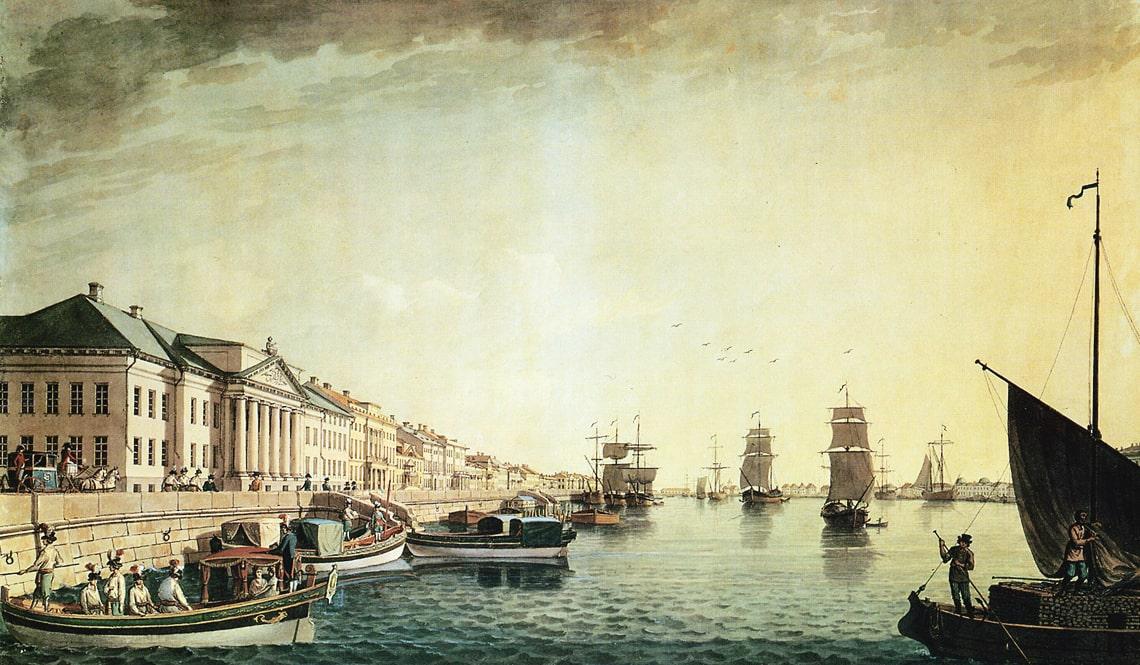 Naberezhnaya-Nevyi-u-Senata-1801