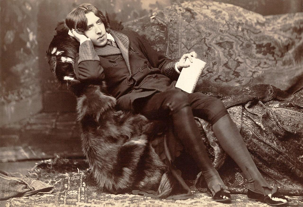 Oskar-Uayld-v-1882-godu