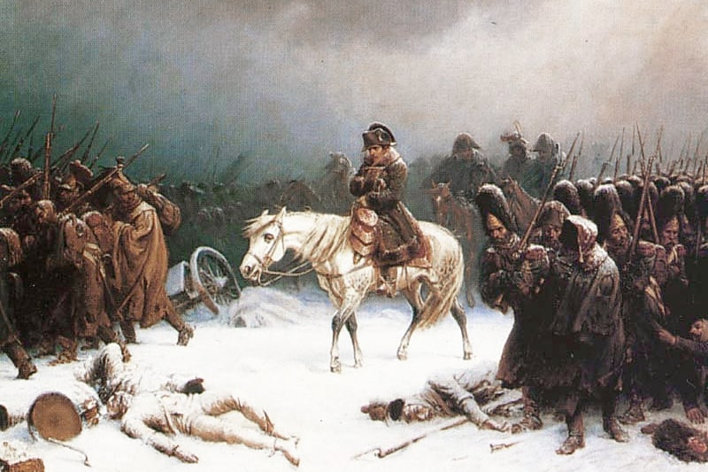 Otstuplenie-Napoleona-iz-Moskvyi