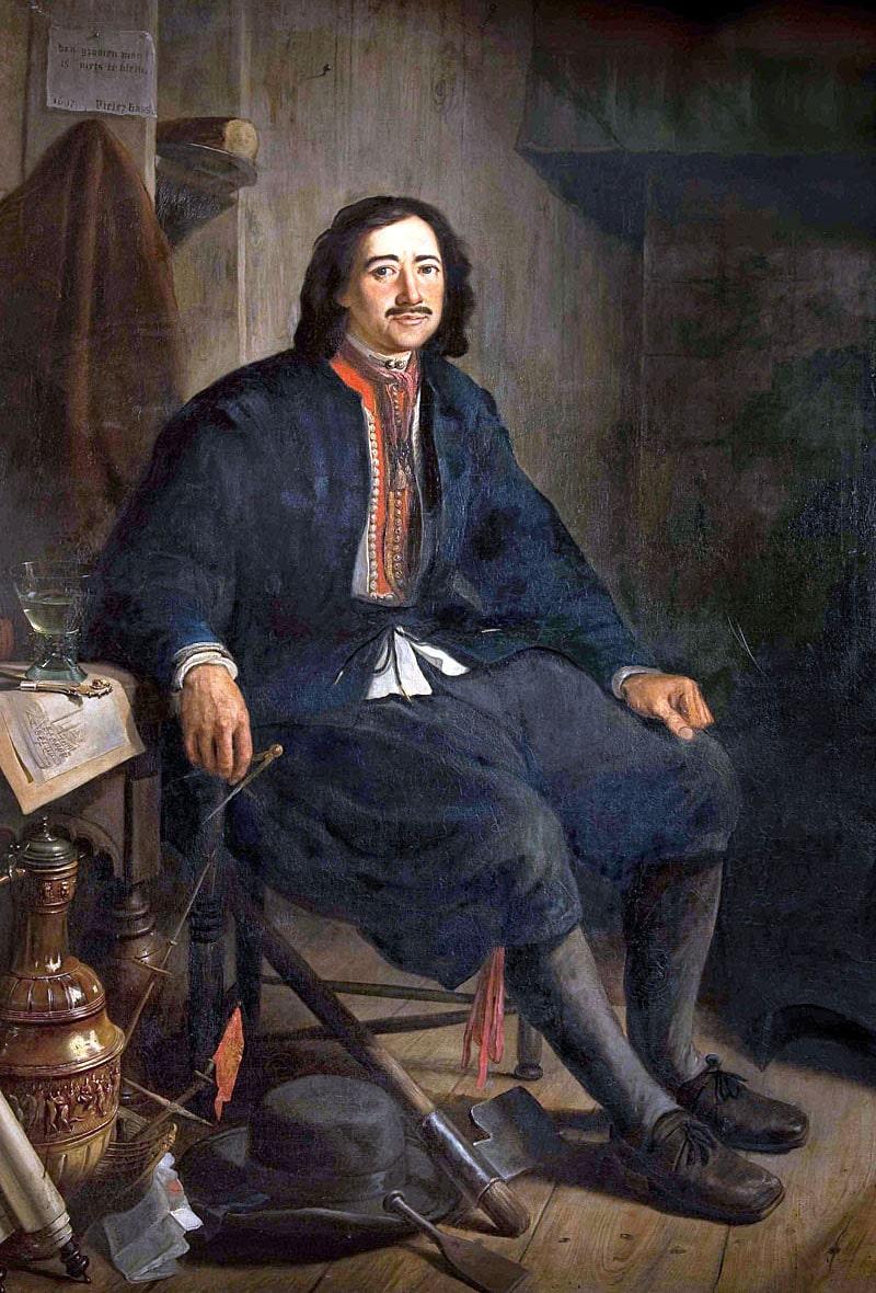 Petr-I-v-kostyume-korabelnogo-mastera