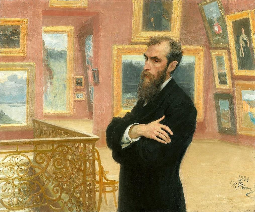 Portret-Pavla-Tretyakova.-1901