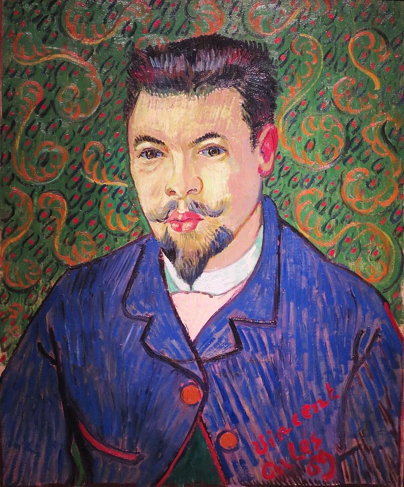 Portret-doktora-Feliksa-Reya.-1889