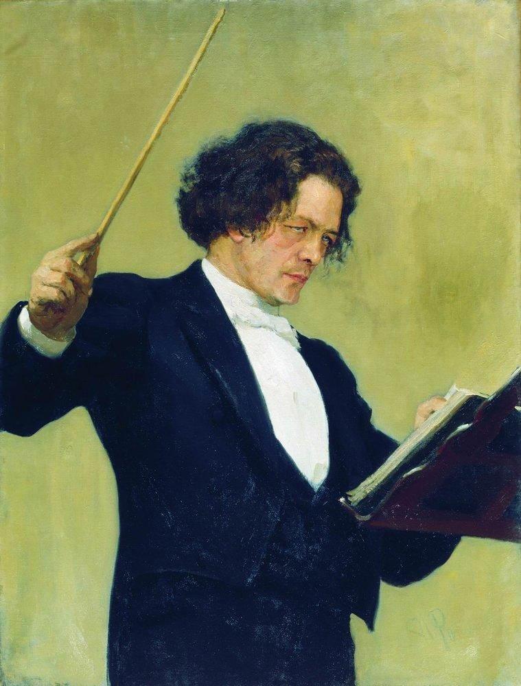 Portret-kompozitora-A.-G.-Rubinshteyna.-1887
